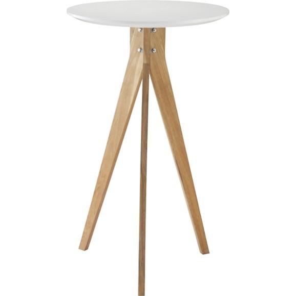 bartisch in wei und walnuss online kaufen m max. Black Bedroom Furniture Sets. Home Design Ideas