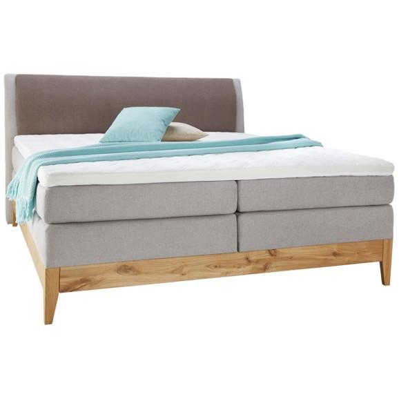 boxspringbett in eiche massiv ca 160x200cm online kaufen. Black Bedroom Furniture Sets. Home Design Ideas