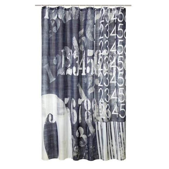 duschvorhang vintage ca 180x200cm online kaufen m max. Black Bedroom Furniture Sets. Home Design Ideas