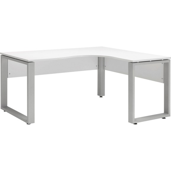 eckschreibtisch in wei online kaufen m max. Black Bedroom Furniture Sets. Home Design Ideas