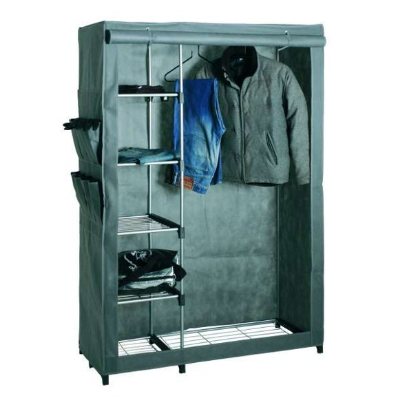 garderobe in alu gr n online kaufen m max. Black Bedroom Furniture Sets. Home Design Ideas