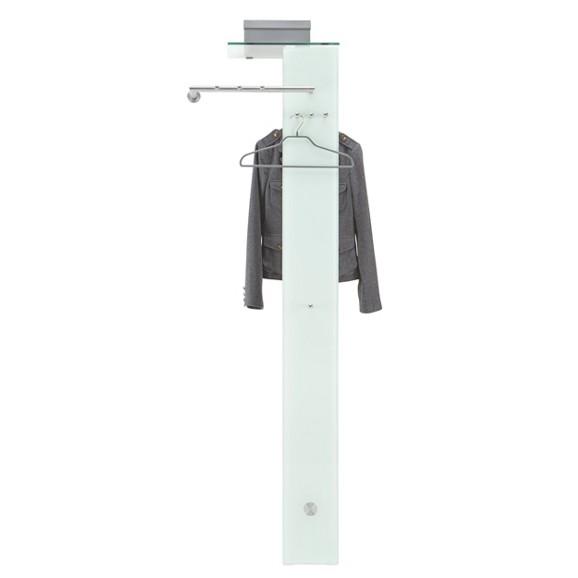 Garderobenpaneel in edelstahloptik online kaufen m max for Garderobenpaneel modern