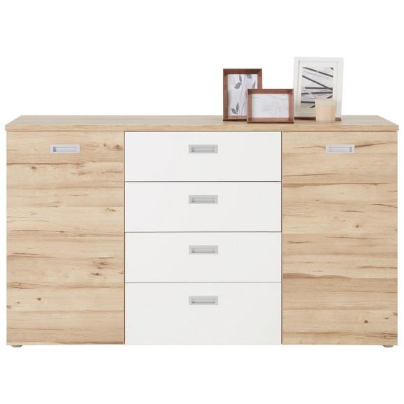 kommode in eiche wei online kaufen m max. Black Bedroom Furniture Sets. Home Design Ideas