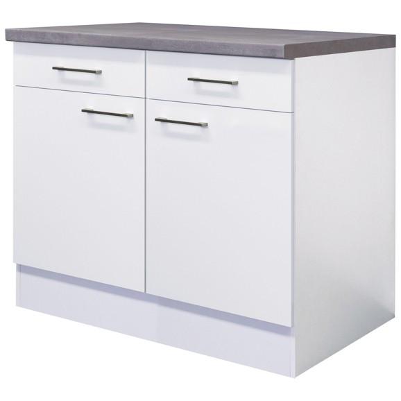 küchenunterschrank in weiß online kaufen ➤ mömax - Küchen Unterschrank Weiß Hochglanz