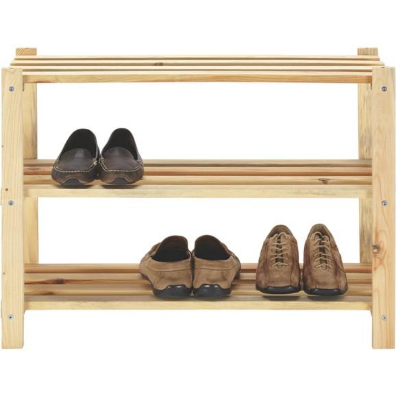 schuhregal in fichte online kaufen m max. Black Bedroom Furniture Sets. Home Design Ideas