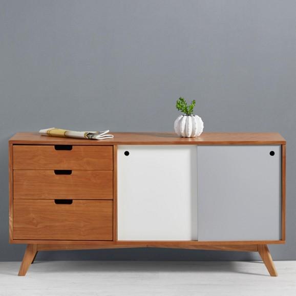 sideboard jillian im retro look online kaufen m max. Black Bedroom Furniture Sets. Home Design Ideas