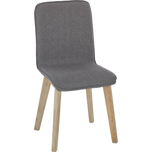 Stuhl in grau eichefarben online kaufen m max for Stuhl modern grau