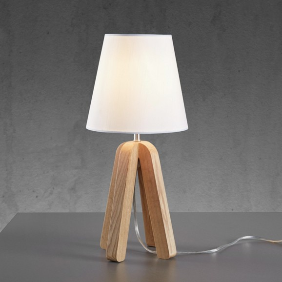 tischleuchte modern holz. Black Bedroom Furniture Sets. Home Design Ideas
