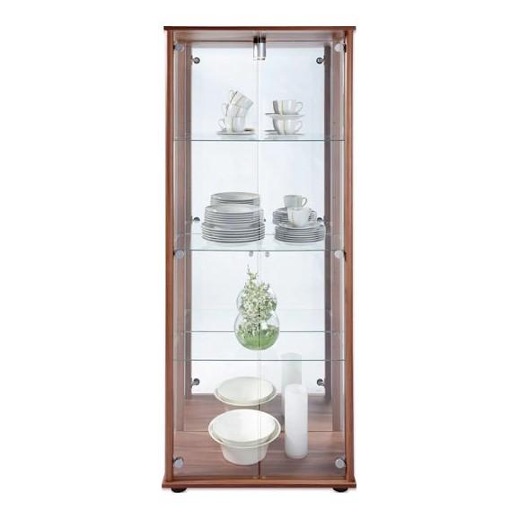 vitrine in eichefarben online kaufen m max. Black Bedroom Furniture Sets. Home Design Ideas