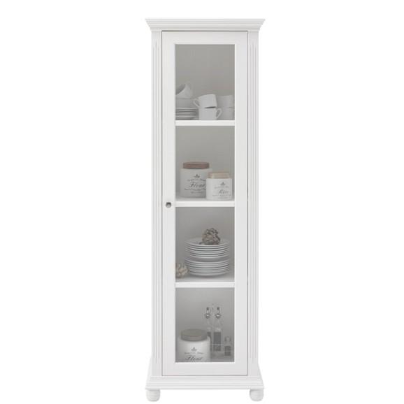 vitrine in wei online kaufen m max. Black Bedroom Furniture Sets. Home Design Ideas