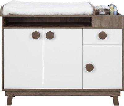Wickelkommode In Weiß   Weiß, MODERN, Holz (117/100cm)   Premium