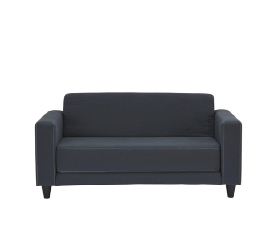 schlafsofa in grau schlafsofas polsterm bel wohnzimmer produkte. Black Bedroom Furniture Sets. Home Design Ideas