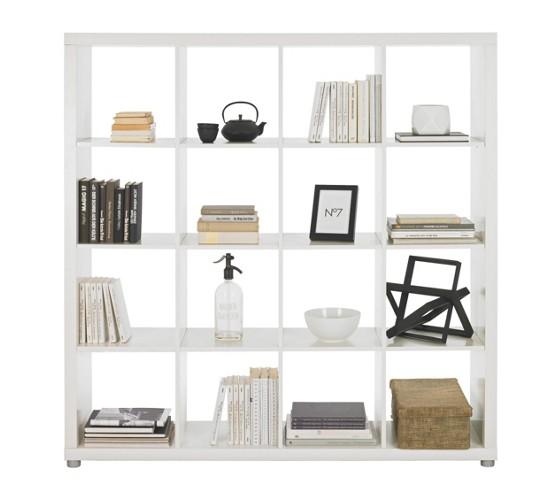 raumteiler in wei lackiert raumteiler kommoden. Black Bedroom Furniture Sets. Home Design Ideas