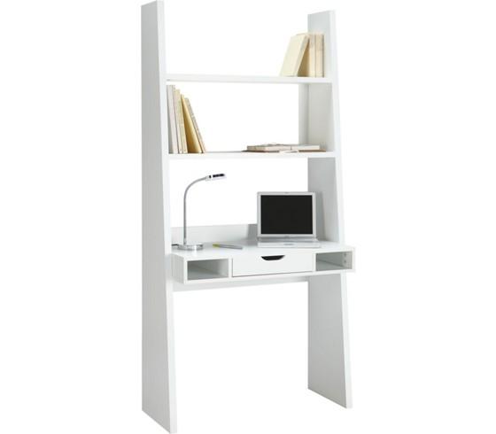 schreibtisch in wei matt schreibtische b rom bel. Black Bedroom Furniture Sets. Home Design Ideas