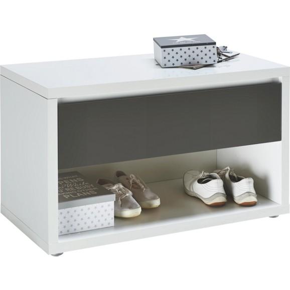 sitzbank in anthrazit wei st hle barhocker k chen esszimmer produkte. Black Bedroom Furniture Sets. Home Design Ideas