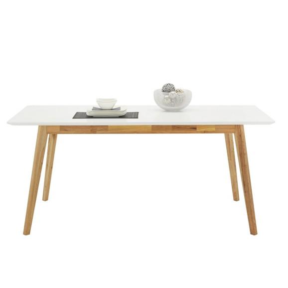 esstisch in wei wallnuss aus echtholz tische k chen esszimmer produkte. Black Bedroom Furniture Sets. Home Design Ideas