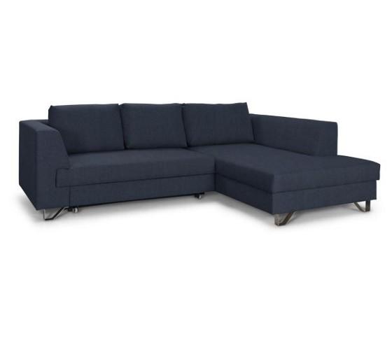 wohnlandschaft in blau wohnlandschaft polsterm bel. Black Bedroom Furniture Sets. Home Design Ideas