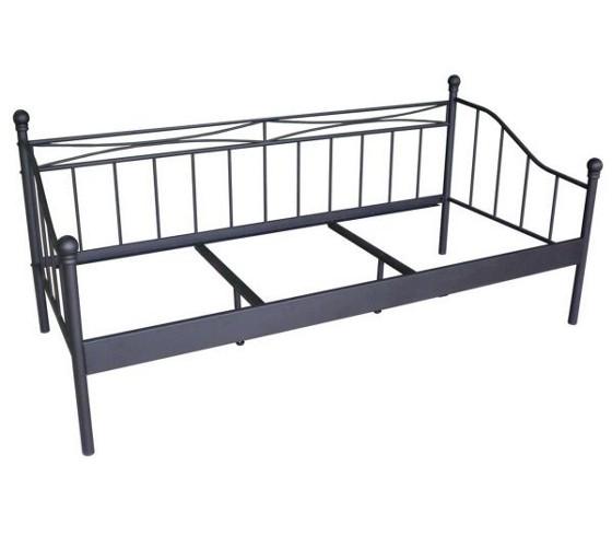 Tagesbett In Schwarz Ca. 90x200cm