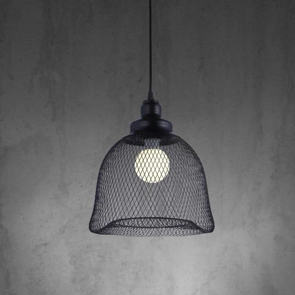 h ngeleuchte tiaga aus metall in schwarz leuchten online only produkte. Black Bedroom Furniture Sets. Home Design Ideas
