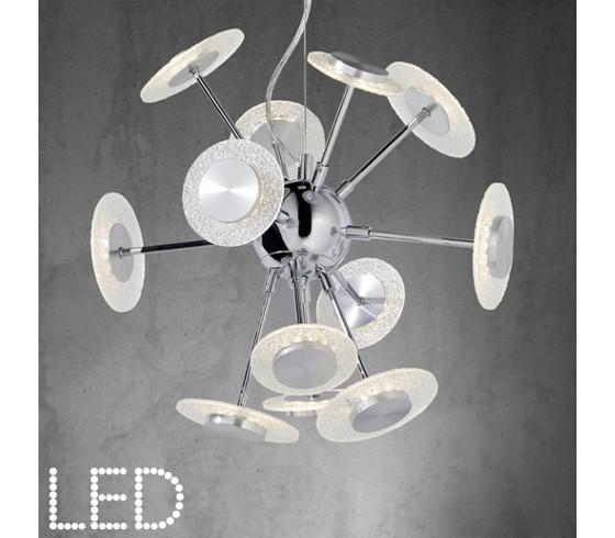 deckenleuchte parici in chrom und acryl leuchten online only produkte. Black Bedroom Furniture Sets. Home Design Ideas