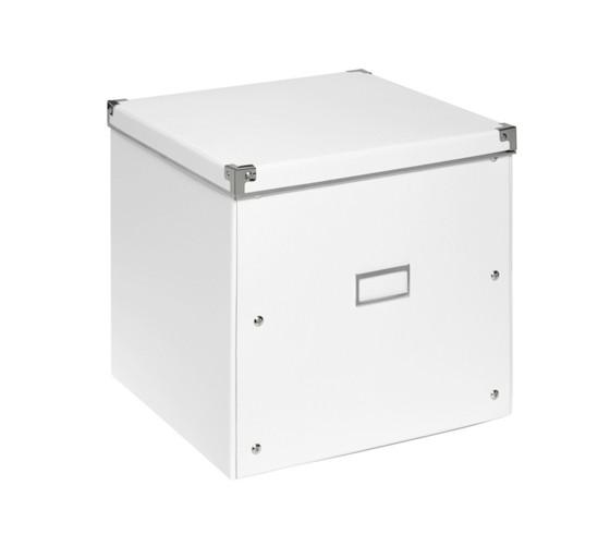 aufbewahrungsbox lorenz in wei faltbar aufbewahrungsboxen aufbewahrung k rbe. Black Bedroom Furniture Sets. Home Design Ideas