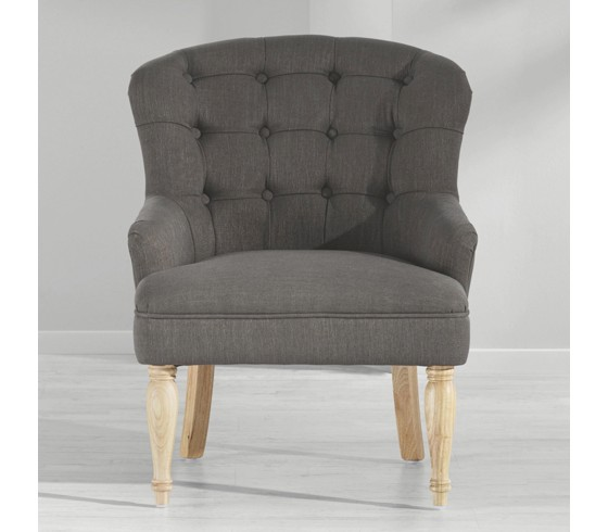 armlehnstuhl lukas in grau speisen online only produkte. Black Bedroom Furniture Sets. Home Design Ideas