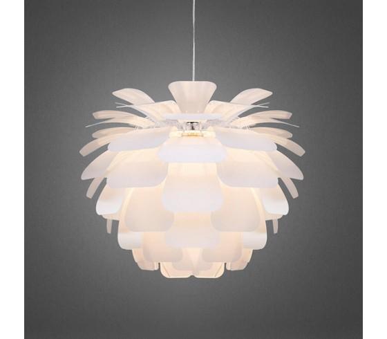 h ngeleuchte luise aus kunststoff in wei h ngeleuchten beleuchtung produkte. Black Bedroom Furniture Sets. Home Design Ideas