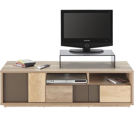 phonotisch in braun eiche tv m bel wohnw nde tv m bel wohnzimmer produkte. Black Bedroom Furniture Sets. Home Design Ideas