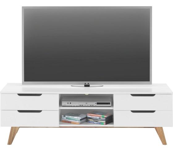 phonotisch in wei aus walnuss tv m bel wohnw nde tv. Black Bedroom Furniture Sets. Home Design Ideas