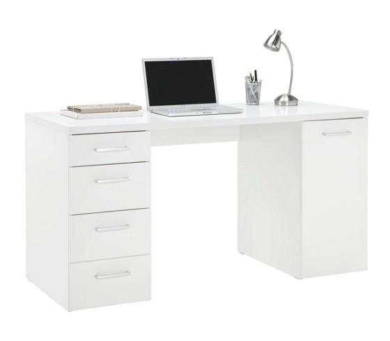 Schreibtisch Carlos Weiss - Schreibtische - Büromöbel - Büro ...