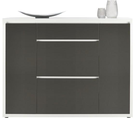 schuhschrank in anthrazit wei schuhschr nke regale vorzimmerm bel b ro vorzimmer. Black Bedroom Furniture Sets. Home Design Ideas