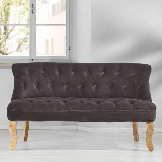 wohnzimmer couch günstig:Sofa Tammy Aus Samt (008103002501): Bild 280116150381030025-01-M06.jpg