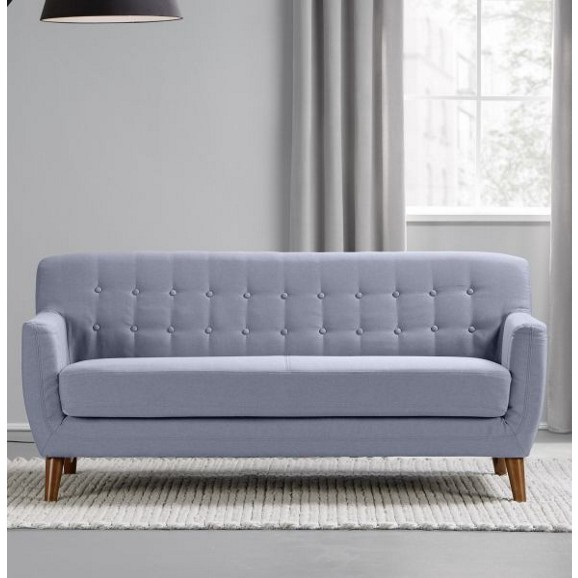 sofa in blau grau xavier wohnen online only produkte. Black Bedroom Furniture Sets. Home Design Ideas