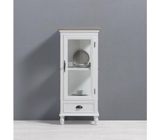 vitrine claudia antik in wei kleinm bel online only produkte. Black Bedroom Furniture Sets. Home Design Ideas