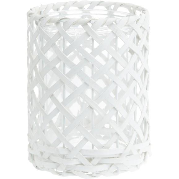 windlicht antonia in wei aus glas holz dekoobjekte wohnaccessoires dekoration produkte. Black Bedroom Furniture Sets. Home Design Ideas