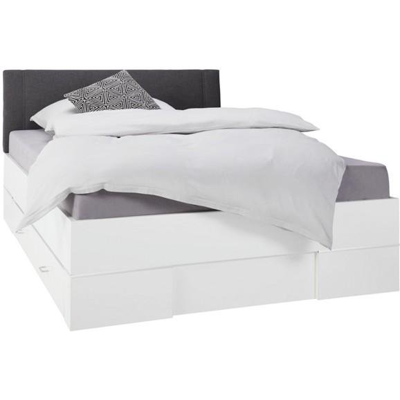 Bett in wei ca 140x200cm online kaufen m max for Bett 0 90x1 90