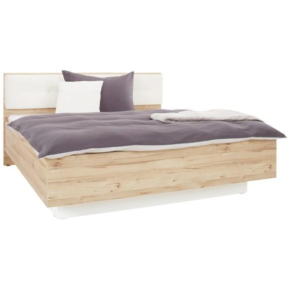 Bett in wei eiche ca 180x200cm online kaufen m max for Bett 0 90x1 90