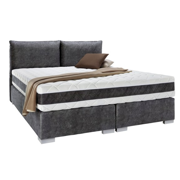 boxspringbett in schwarz ca 160x200cm online kaufen m max. Black Bedroom Furniture Sets. Home Design Ideas