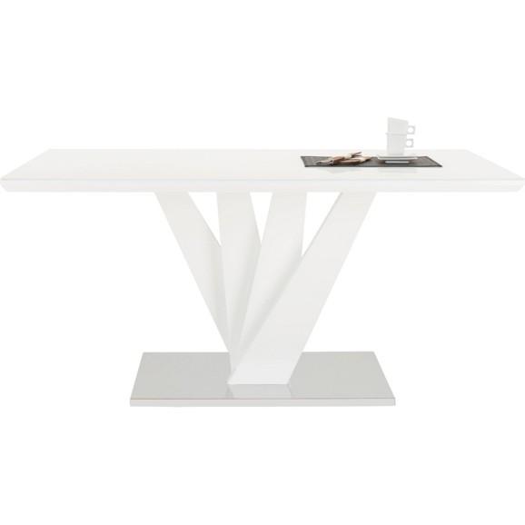 esstisch in wei hochglanz online kaufen m max. Black Bedroom Furniture Sets. Home Design Ideas
