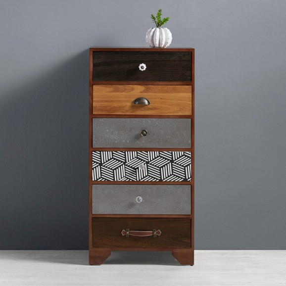 kommode aus holz im vintage stil heather online kaufen m max. Black Bedroom Furniture Sets. Home Design Ideas