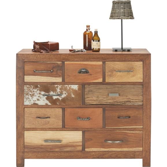 kommode in braun aus mango massivholz online kaufen m max. Black Bedroom Furniture Sets. Home Design Ideas