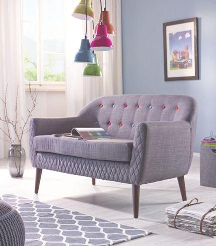 Wohnzimmer sofa grau ecksofa couch tifon cm grau schwarz bettfunktion - Wohnzimmer im retro look ...