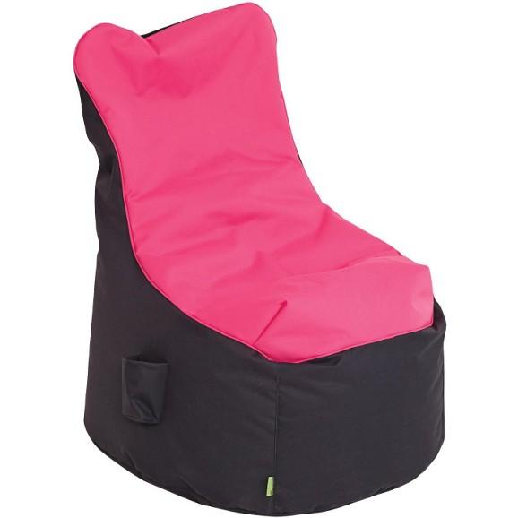 sitzsack in rosa anthrazit online kaufen m max. Black Bedroom Furniture Sets. Home Design Ideas