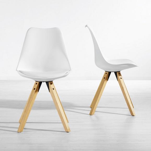 stuhl ricky in wei online kaufen m max. Black Bedroom Furniture Sets. Home Design Ideas