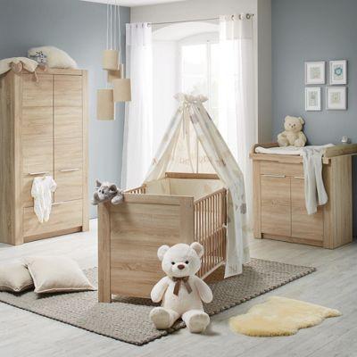Babyzimmer Carlotta   Eichefarben, KONVENTIONELL