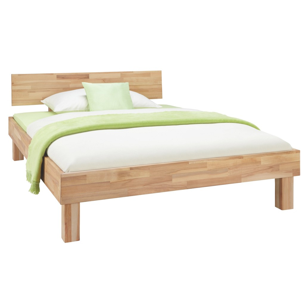 Bett in Buche, ca. 90x200cm
