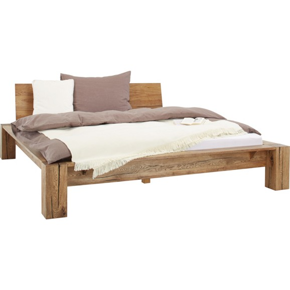 Bett in eiche ca 180x200cm online kaufen m max for Bett 180 x 90