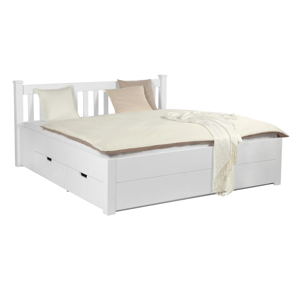 Bett in Weiß ca. 160x200cm
