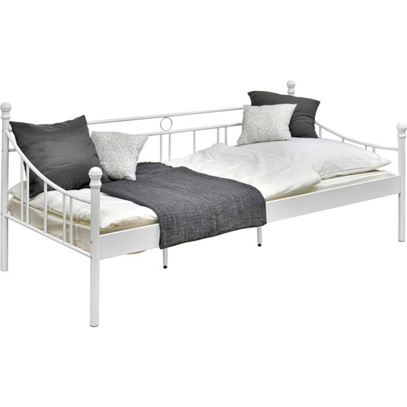 bett in wei ca 90x200cm online kaufen m max. Black Bedroom Furniture Sets. Home Design Ideas