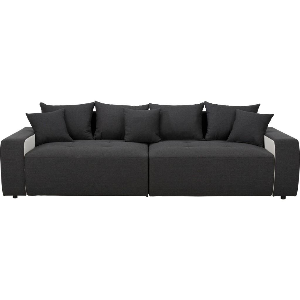 Bigsofa in Schwarz/Weiß